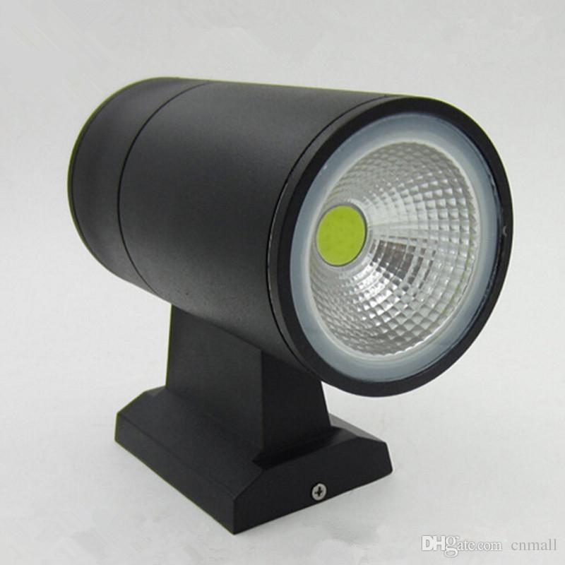 Modern cob 2*10w 20w outdoor led wall lights ip65 waterproof wall sconce up down ikatodx