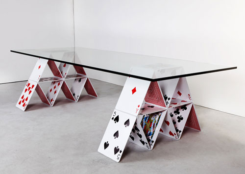 Modern cool furniture house-of-card-table innovative furniture design: coffee tables, chairs, pmrbuxq