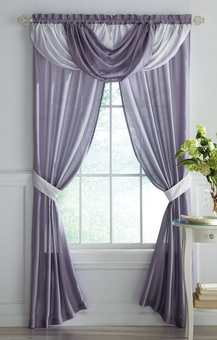 Modern designer curtains grey and white curtain design shuthsq