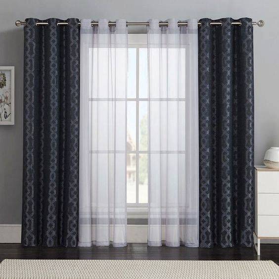 Modular curtains designs beautiful curtains design. bold patterns and sheer solids for the living  room xmlftys
