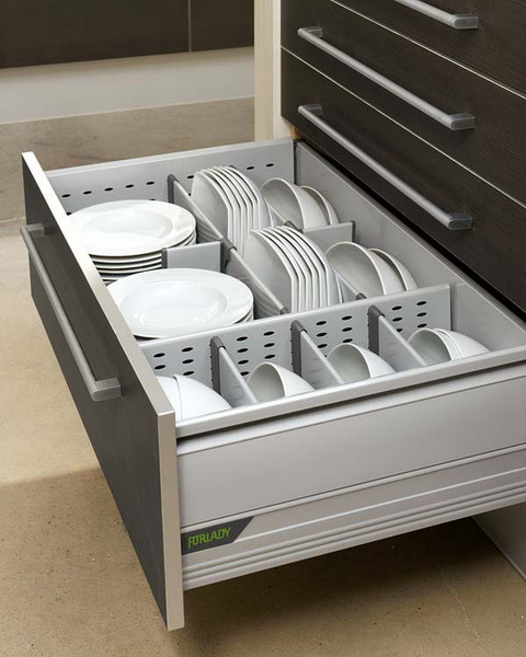 Modular kitchen drawers simple dishes organizer works really well. mfivodf