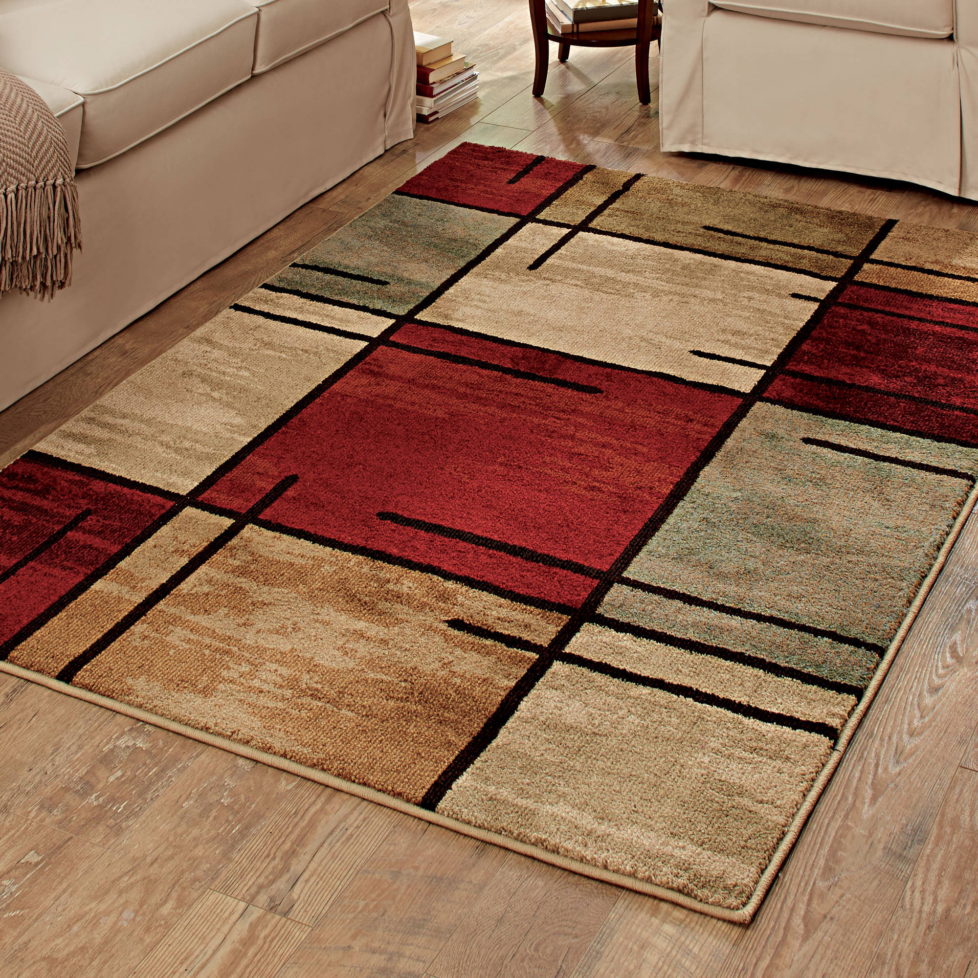 Modular throw rugs better homes and gardens spice grid area rug vtovhao