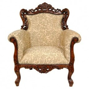 New antique chairs handcrafted poplar wood arm chair with intricately carved framework and yusqlhc