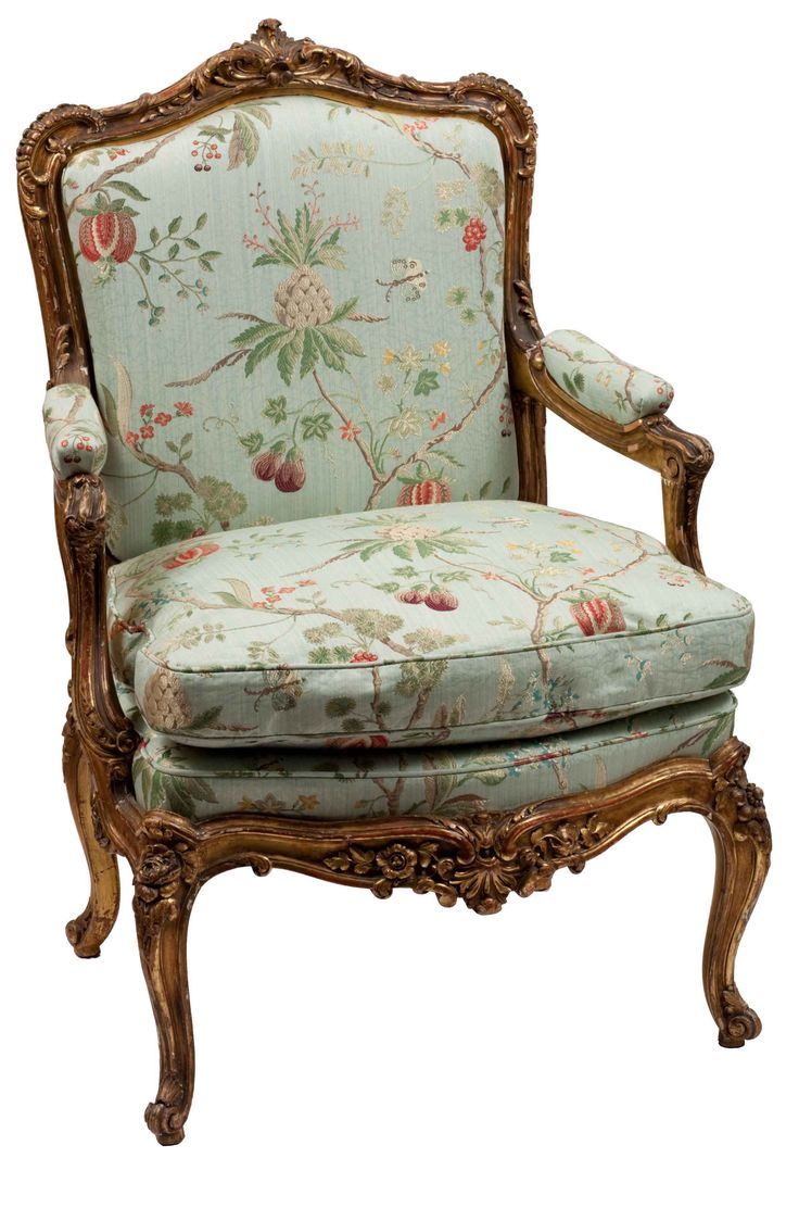 New antique chairs single louis xv style gilt frame arm chair - antique chair tfdtucp