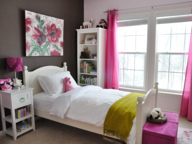 New bedrooms for girls kids bedroom ideas | hgtv dsadneg