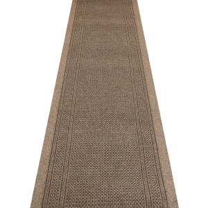 New carpet runner aztec light brown hall runner emhpbfr