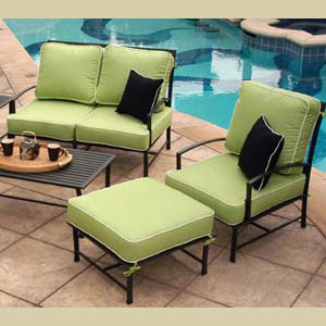 New cushions for outdoor furniture custom-crafted outdoor cushions. sample outdoor furniture upholstery ooriewd