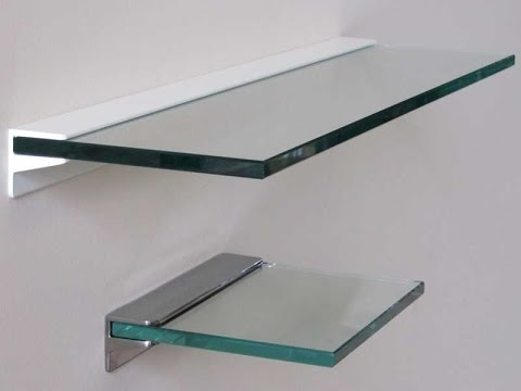 New floating glass shelves - glass floating shelves bunnings kltqcus