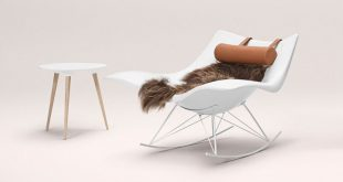 New furniture ideas - 14 awesome modern rocking chair designs // the  polypropylene vnjkrse