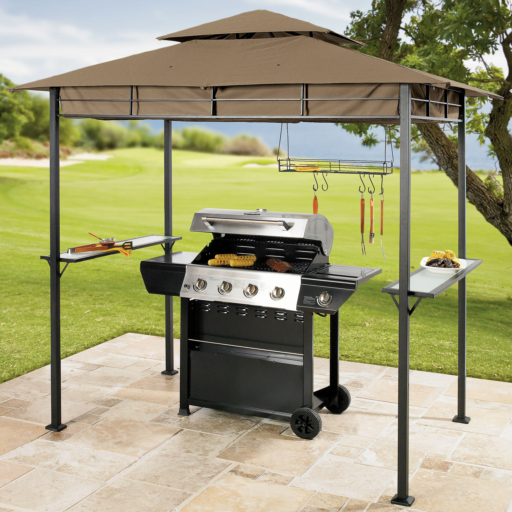 Features of grill gazebos