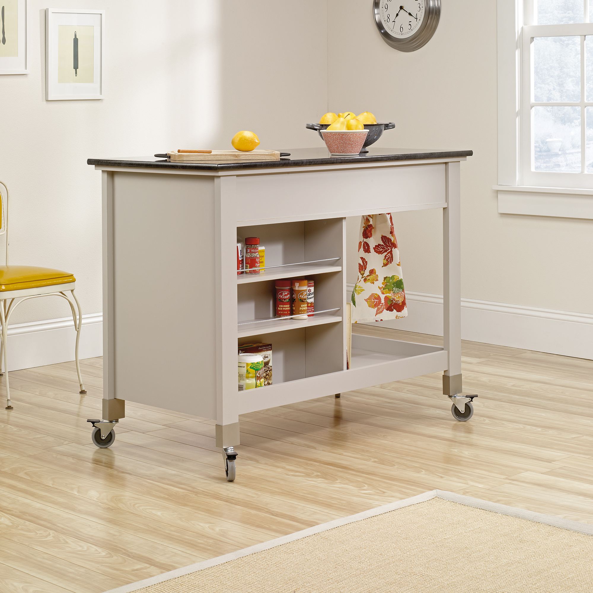 New mobile kitchen island cart zuidcsb