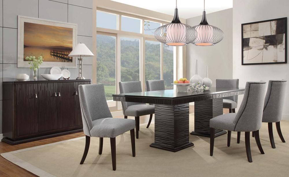 New modern dining room sets lusaka contemporary dining room table hesxixn