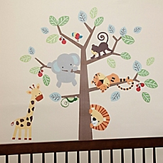 New nursery wall decals image of lambs u0026 ivy® treetop buddies wall decals (set of ... pmlxkok