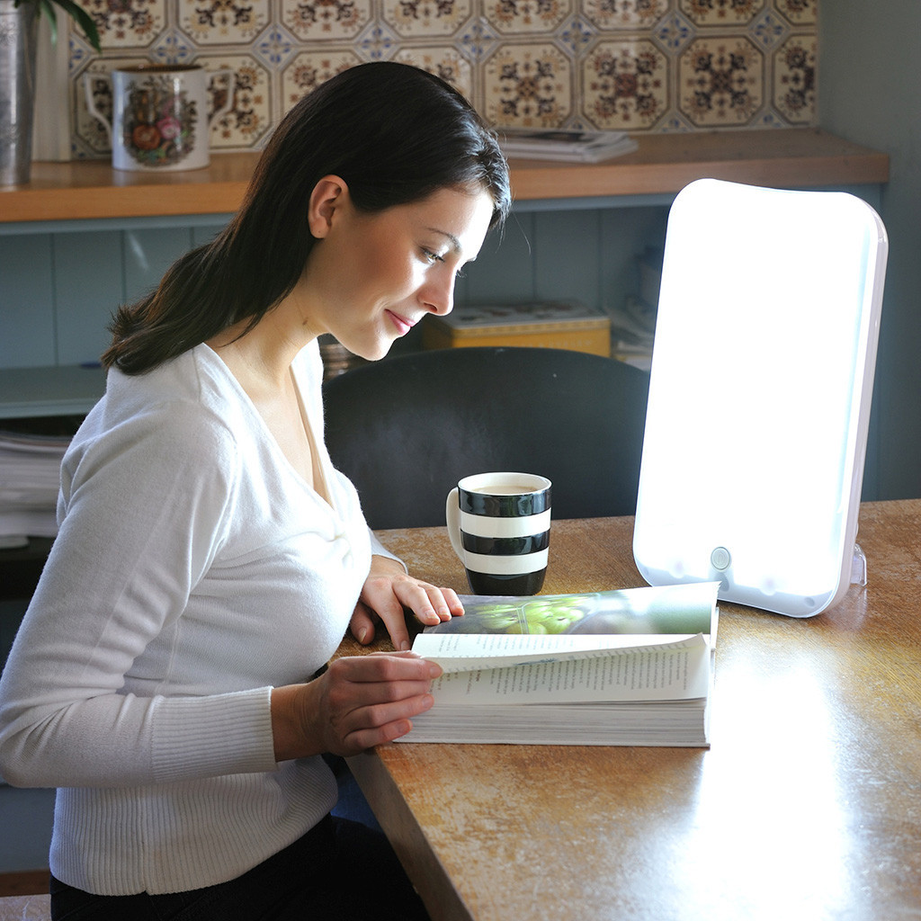 Sad lamp is effective for people suffering from seasonal affective disorder