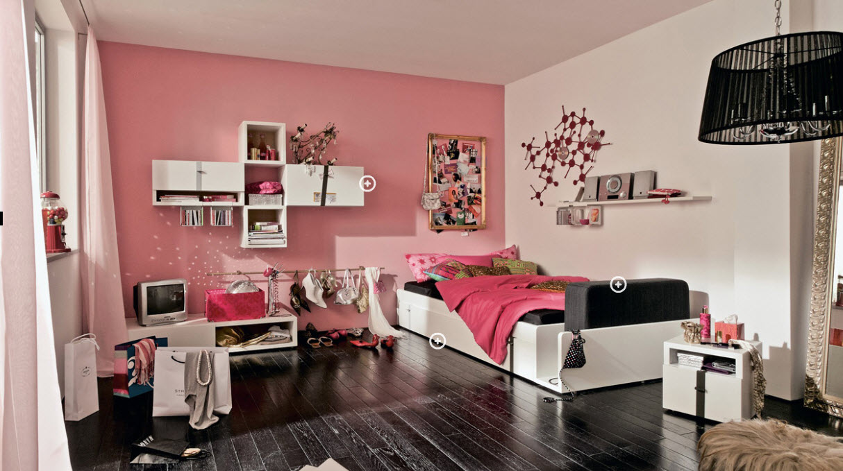 New teenage bedroom 9. capitalize on black accents. ijbzjxd