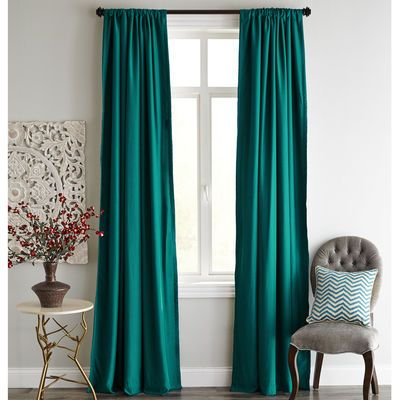 New turquoise curtains roulette blackout curtain - teal lyvczog