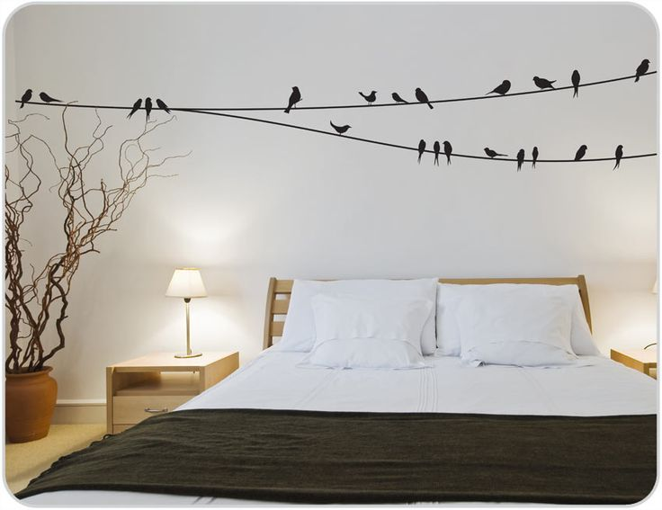 Wall stickers for bedroom to enhance the décor