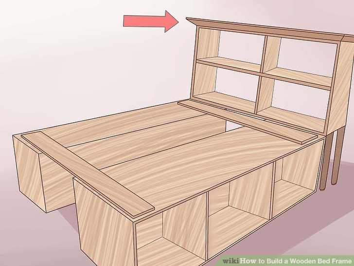 New wooden bed frames image titled build a wooden bed frame step 27 hlruazc