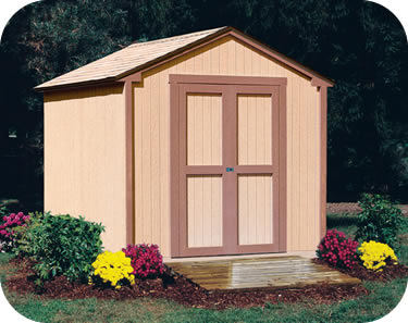 New wooden sheds handy home kingston 8x8 wood storage shed kit zsbxotw