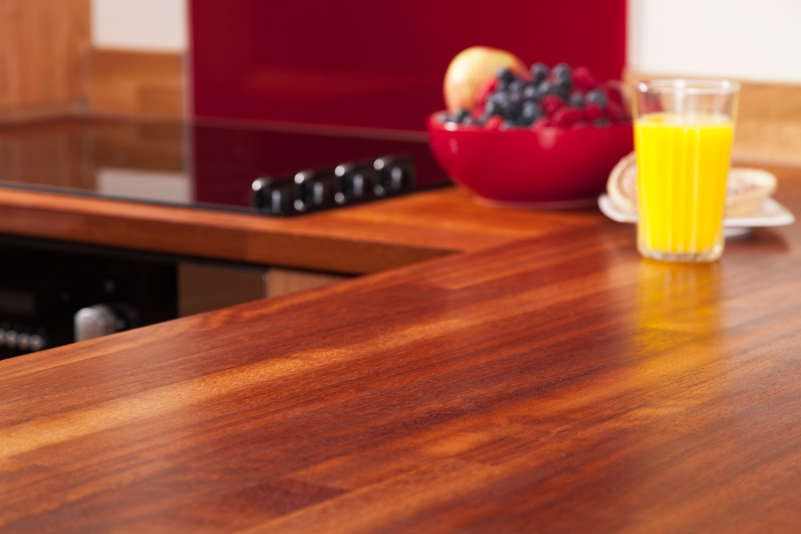 Nice kitchen worktop solid iroko kitchen worktops with 40mm staves, joined with a butt joint. vaziuaf