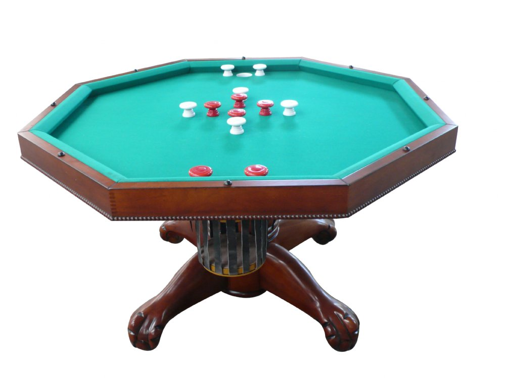 Photos of bumper pool table 3 in 1 table - octagon w/ bumper pool with slate bed in qzkkrcc