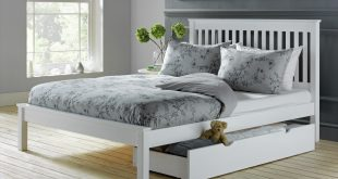 Photos of collection aspley double bed frame - white kvmjnay