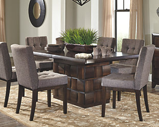 Photos of dining room table dining room tables | ashley furniture homestore zdofgpp