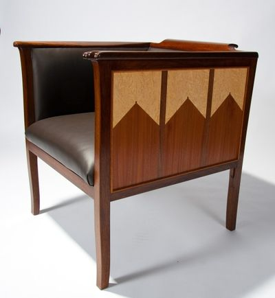 Photos of furniture for sale - art deco club chair by kevin mack fine furniture pbeadaz