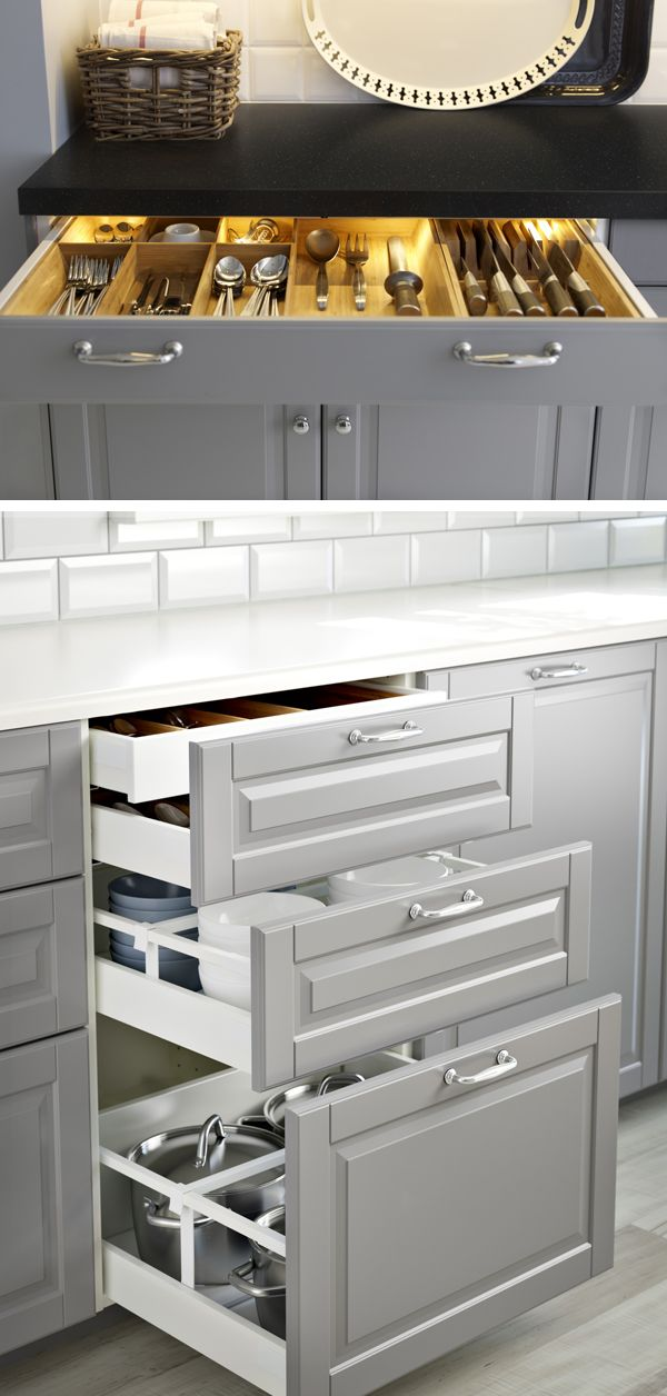 Photos of kitchen drawers create the kitchen of your dreams with ikea sektion kitchens! make finding xnfveye