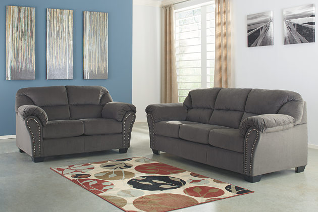 Photos of loveseat sofa gray sofa and loveseat with divided back cushions and curved arms byvtzdu