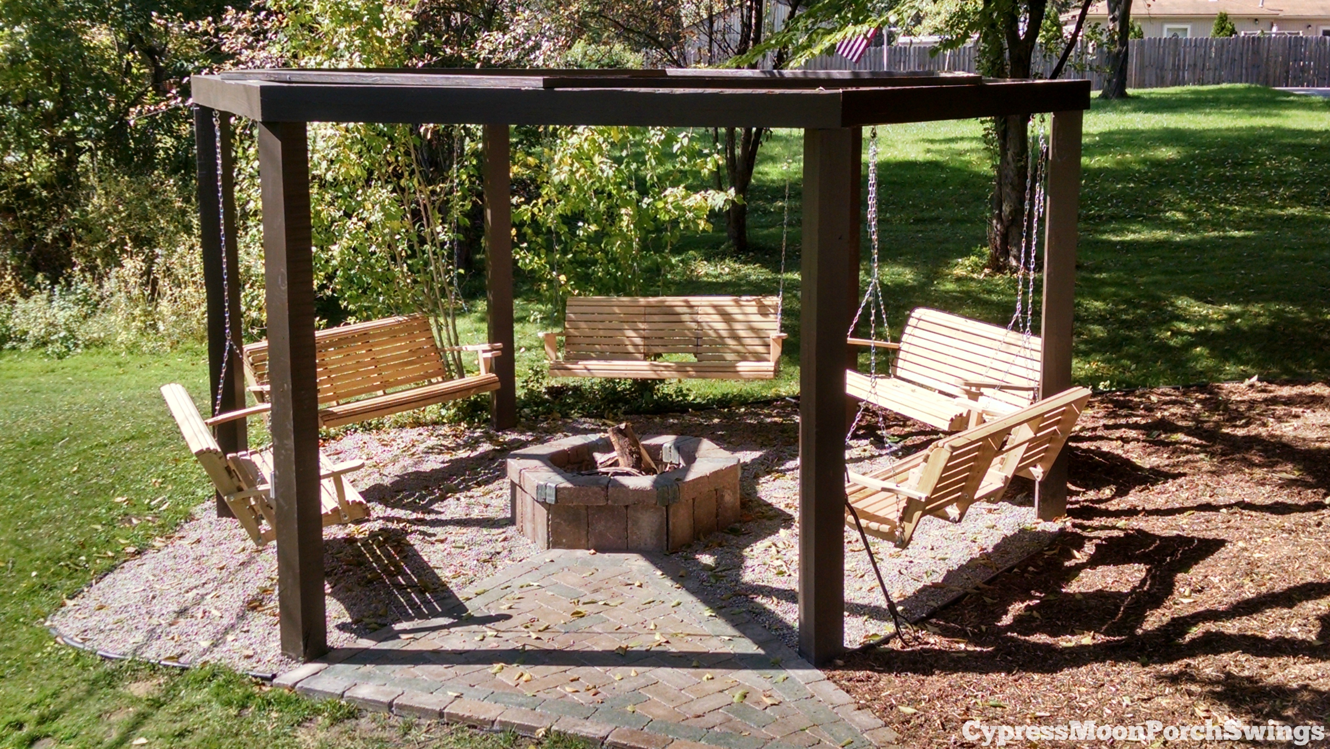 Photos of porch swings fire pit circle - porch swings - patio swings - outdoor xtrjtwd