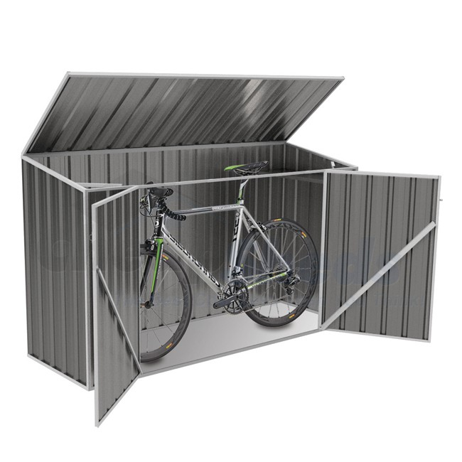 Pictures of absco bike shed 2.26m x 0.78m colour hwwsorn