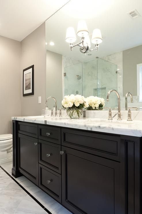 Pictures of black bathroom vanity black double bath vanity with wilshire double sconce hbfveqm