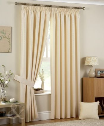 Pictures of cream curtains luxury jacquard pencil pleat ivory cream curtain mocjlhb