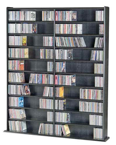 Pictures of hardwood dvd cd storage rack for cd dvd vhs and games zaqqpun