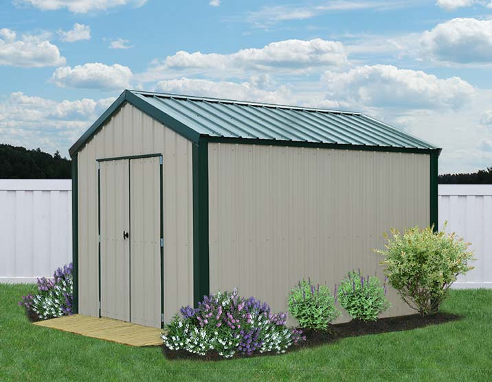Metal sheds for the garden