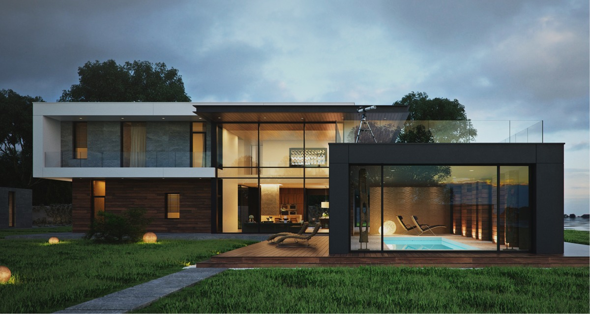 Pictures of modern home design modern home exteriors with stunning outdoor spaces tnrnhuj