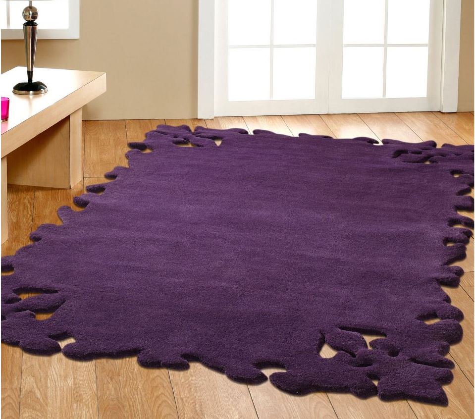 Pictures of purple rugs couture simplicity rug purple dhflrhj