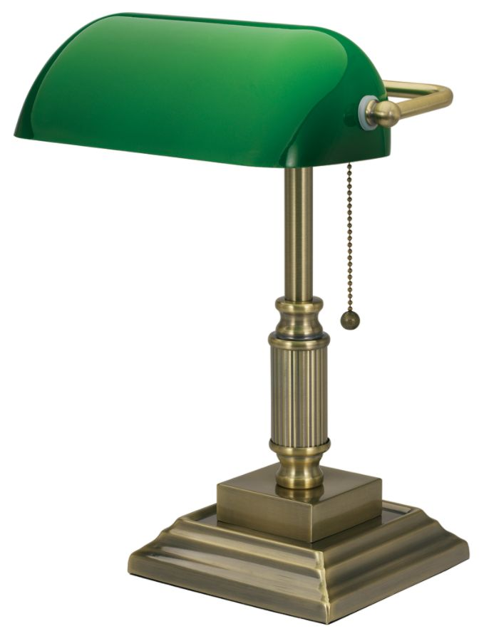 Pictures of realspace traditional bankers lamp 14 34 h antique brass by office depot u0026 kxqpwjs