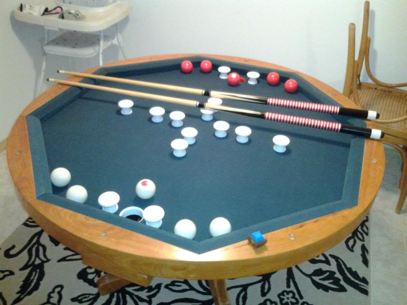 Pictures of repairing a 3 in 1 bumper pool table? - azbilliards.com zdkirbe