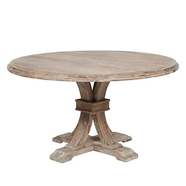 Pictures of round dining tables archer wash oak fixed pedestal dining table qvxcdkg