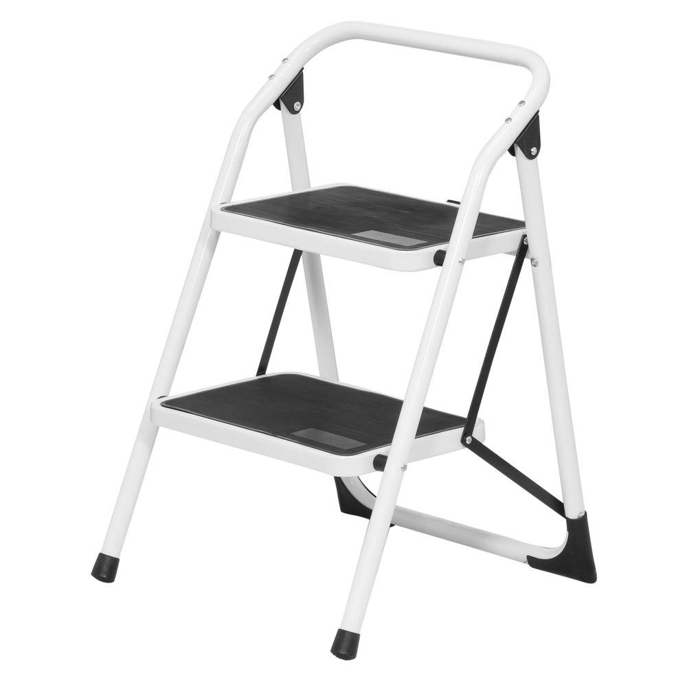 Pictures of step stool 2-step steel utility ladder ... stnozgd