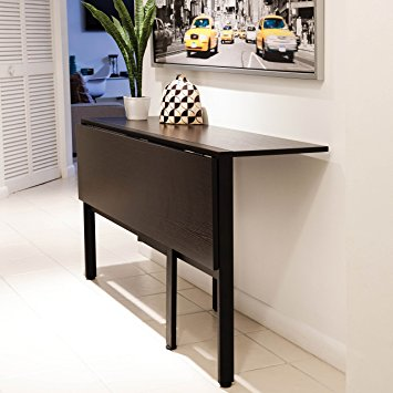 Pictures of tokyo espresso rectangle folding dining table ojpvstk