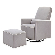 Popular baby glider image of davinci olive upholstered swivel glider and ottoman in grey with qlaeuep