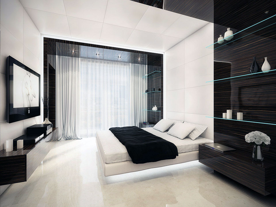 Popular black and white bedroom ... black white bedroom ... udwpksp