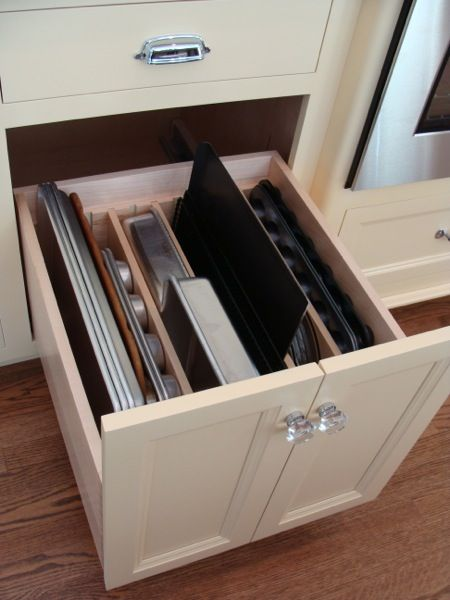 Popular kitchen drawers trays are divided by kind inside a kitchen osouehb
