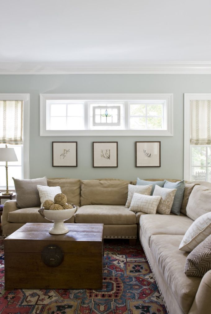 Popular living room paint ideas paint color: benjamin moore tranquility. this is the color we used in our oavjhxn