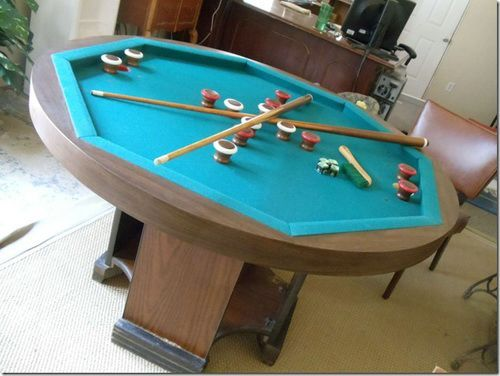 Popular octagon bumper pool table zisraqc