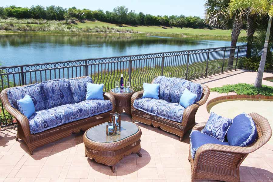 Popular outdoor furniture cushions image of: blue patio furniture cushions tmrikum