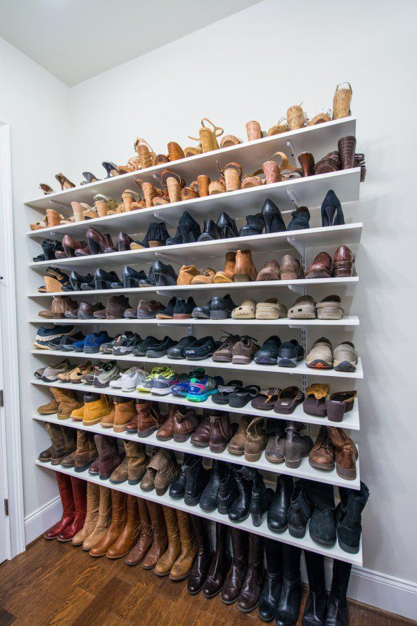 Stunning 40 best clever shoe storage ideas of the year znzggxl